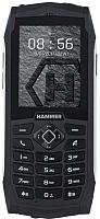 Мобильный телефон MyPhone Hammer 3 (серебристый) -