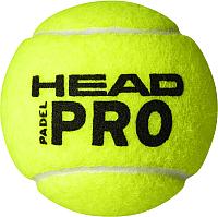 Набор мячей для падел-тенниса Head Paddle Pro / 575613 (3шт) -