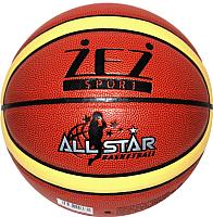 Баскетбольный мяч No Brand PU-MO12 №7 -