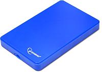 Бокс для жесткого диска Gembird EE2-U2S-40P-B (синий) -