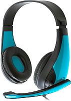 Наушники-гарнитура Freestyle FH4008BL + Adapter 2-1 (синий) -