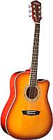 Акустическая гитара Washburn WA90CTS -