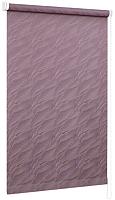Рулонная штора Delfa Сантайм Жаккард Веда СРШ-01М 879 (43x170, фиолетовый) -