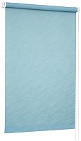 Рулонная штора Delfa Сантайм Жаккард Веда СРШ-01М 840 (43x170, голубой) -