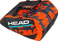 Сумка теннисная Head Delta Bela Monstercombi / 283607 (черный/оранжевый) -