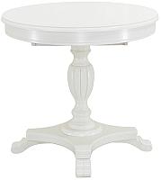 Обеденный стол Castor Роланд-К / 160043 (бук/белая эмаль) -