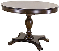 Обеденный стол Castor Роланд-ОВ / 160044 (бук/темный бук) -