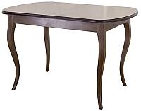 Обеденный стол Castor Сонет-М / 160046 (бук/темный бук) -