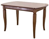 Обеденный стол Castor Шелтон-М / 160055 (бук/орех) -