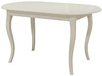 Обеденный стол Castor Сонет / 160056 (бук/белая эмаль) -