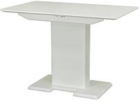 Обеденный стол Castor Бруно / 160062 (бук/белая эмаль) -