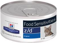 Корм для кошек Hill's Prescription Diet Food Sensitivities z/d Original / 5661 (156г) -