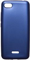 Чехол-накладка Volare Rosso Soft-touch силиконовый для Redmi 6A (темно-синий) -