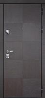 Входная дверь Юркас Staller Альба Венге черный/белый сатин (86x205, правая) -