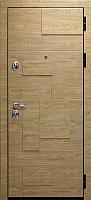 Входная дверь Юркас Staller Бруно Ель карпатская/ель карпатская (96x205, правая) -