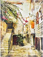 Картина GenArt Старая улочка 116 (30x40) -