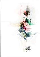 Картина GenArt Девушка-3 185 (30x40) -