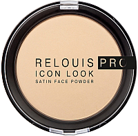 Пудра компактная Relouis Pro Icon Look Satin Face Powder тон 01 -