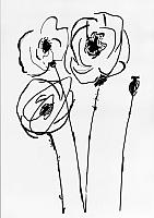 Картина GenArt Цветы 277 (30x40) -