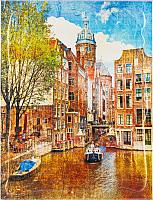 Картина GenArt Очарование Амстердама 345 (30x40) -