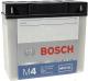 Мотоаккумулятор Bosch M4F 51814 / 0092M4F410 (18 А/ч) -