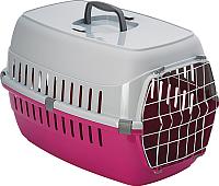 Переноска для животных Moderna Roadrunner 1 / 14T101328 (ярко-розовый) -