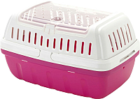 Переноска для животных Moderna Hipster Large / AV61328 (ярко-розовый) -