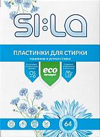 Пластинки для стирки SI:LA Eco (64шт) -