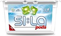 Капсулы для стирки SI:LA Pods White (12шт) -