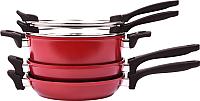 Набор кухонной посуды Oursson CS2405A/DC -