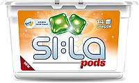 Капсулы для стирки SI:LA Pods Universal (14шт) -