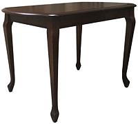 Обеденный стол Аврора Прага 110x70 (тон 7/орех темный) -