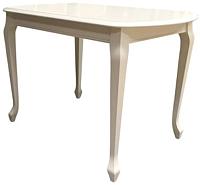 Обеденный стол Аврора Прага 120x80 (тон 10/слоновая кость) -
