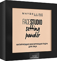 Фиксирующая пудра для лица Maybelline New York Face Studio 009 (светло-бежевый) -