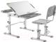 Парта+стул FunDesk Disa (серый) -