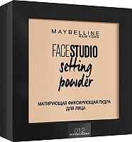 Фиксирующая пудра для лица Maybelline New York Face Studio 012 (натурально-бежевый) -