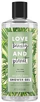 Гель для душа Love Beauty and Planet Чайное дерево и ветивер (400мл) -