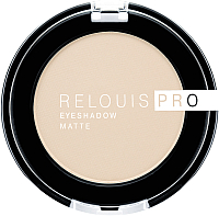 Тени для век Relouis Pro EyeShadow Matte тон 11 Ivory -