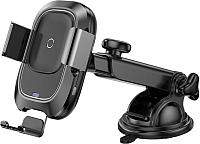 Держатель для портативных устройств Baseus Smart WXZN-B01 (черный) -