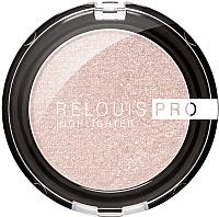 Хайлайтер Relouis Pro Highlighter компактный 01 Pearl (5.5г) -