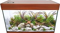 Аквариум eGodim Optima (240л, коричневый) -