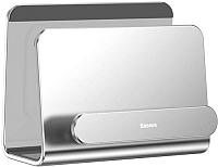 Держатель для портативных устройств Baseus SUBG-0S (серебристый) -