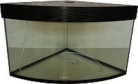 Аквариум eGodim Sharm (70л, черный) -