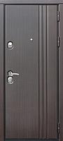 Входная дверь Юркас Staller Лайн Венге/венге (96x205, правая) -