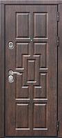 Входная дверь Юркас Staller Квадро Тиковое дерево/венге светлый (96x205, правая) -