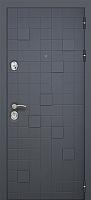 Входная дверь Юркас Staller Метро 2 Антрацит/белый (96x205, правая) -
