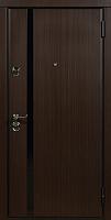 Входная дверь Юркас Staller Модерно Венге темный/экосатин белый (96x205, правая) -
