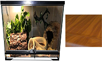 Террариум eGodim Exotica (27л, коричневый) -