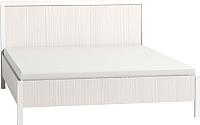 Кровать Глазов Bauhaus 3 140x200 (бодега светлый) -