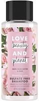 Шампунь для волос Love Beauty and Planet Бессульфатный цветущий цвет (400мл) -